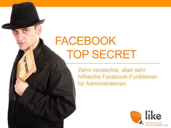 Zehn geheime Facebook Funktionen